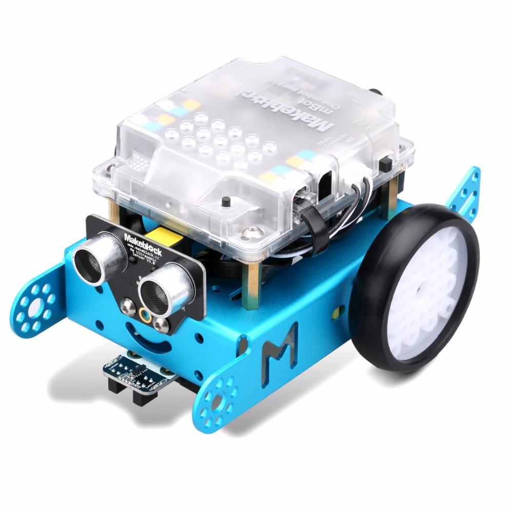 Programmer le robot mbot